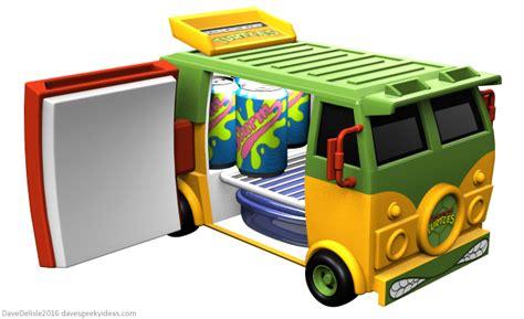 Fridge Mega Set tmnt wagon mini fridge dave s geeky ideas