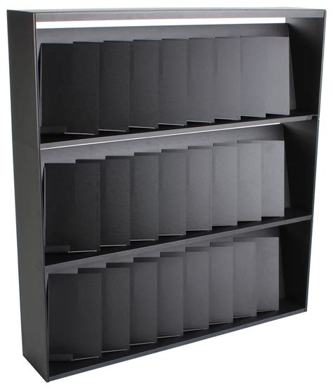 3 shelf magazine rack 24 pockets