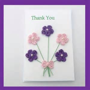 handmade thank you card from myfanwysmakes on etsy handmade