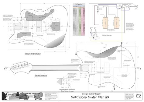 printable jazzmaster template bass guitar building plans free best woodworking project