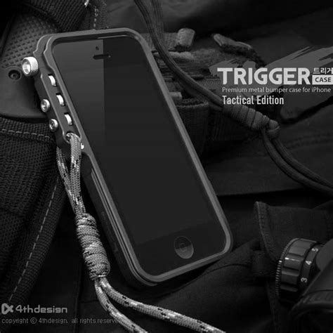 Bumper Trigger Iphone 44s trigger mechanical armor for iphone 7 7