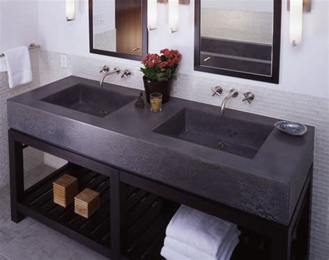 vanity bench tops concrete furniture concrete tables concrete table tops