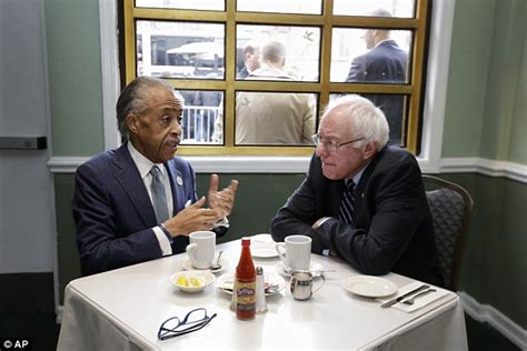 Al Sharpton Criminal Record Bernie Sanders Meets Al Sharpton For Breakfast In Harlem After New Hshire Win