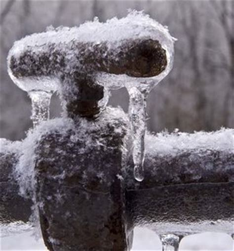 frozen hot water faucet what if my pipes burst this winter simpson plumbing llc