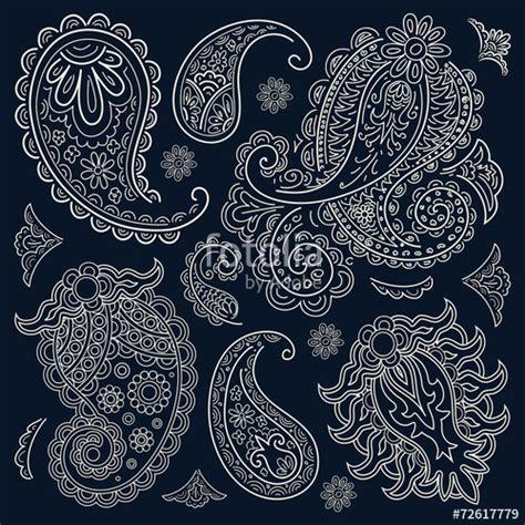 Bandana Pattern Coreldraw | quot paisley bandana quot стоковое изображение и роялти фри