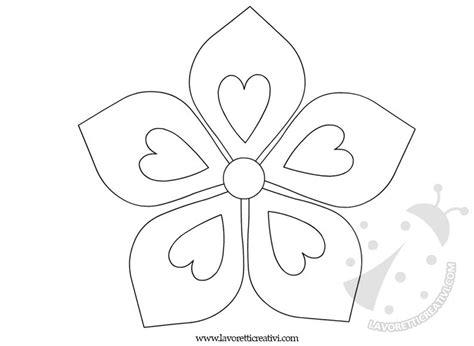 forme fiori da ritagliare sagome fiori