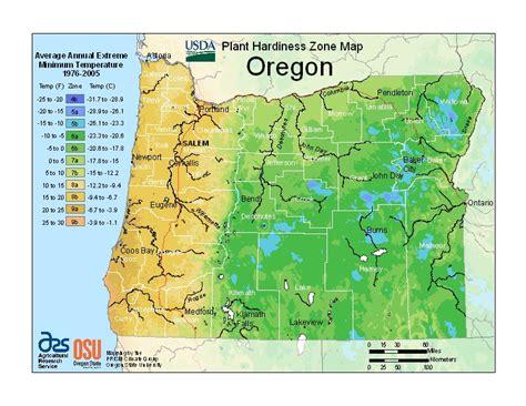 garden zones oregon carlseng designs new usda hardiness zone map