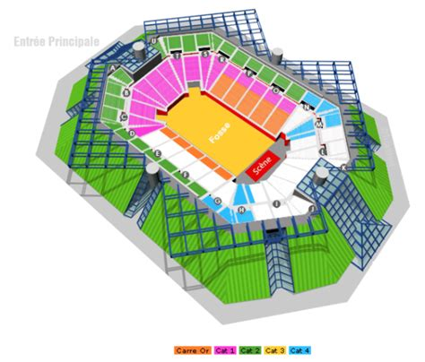 Ultimate Floor Plans by Accorhotels Arena Paris Bercy Floor Standing