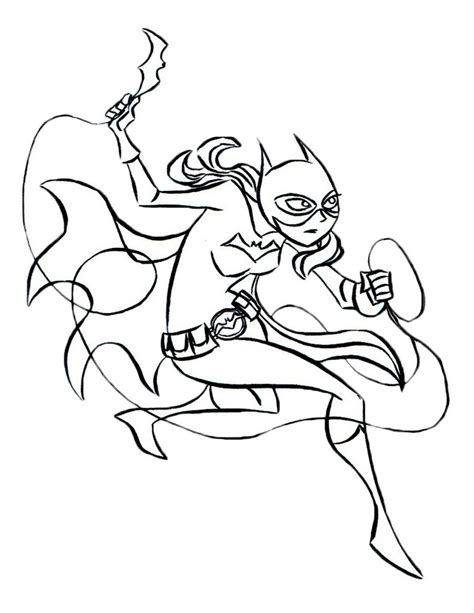 supergirl batgirl coloring pages printable free printable batgirl coloring pages for kids