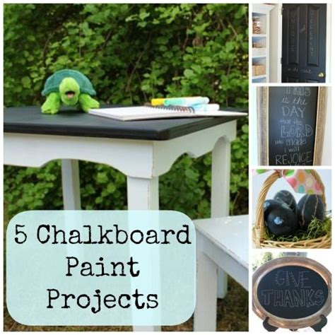 chalkboard paint diy projects the world s catalog of ideas