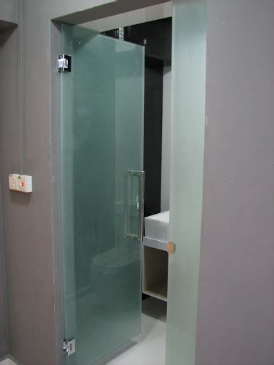 Frosted Glass Bathroom Doors Frosted Glass Door For Common Toilet Kitchen Bathroom Renotalk