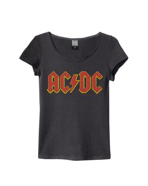 Tshirt Dc One Clothing acdc logo womens slim fit ac dc all t shirts lified