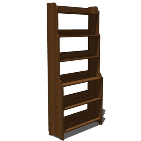 IKEA Leksvik bookcase 3D Model   FormFonts 3D Models