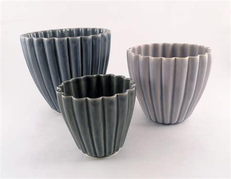 Mangkok Plastik Bowl Diameter 17cm H112 hanne bertelsen ceramics groove pots