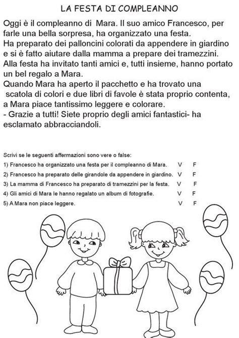 comprensione testo scuola primaria comprensione testo italiano primaria