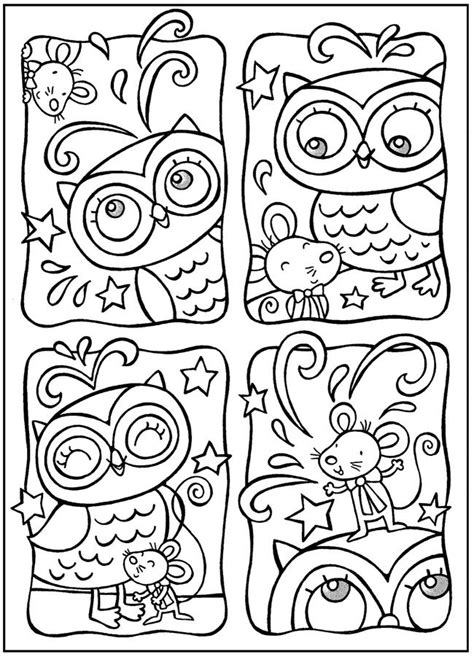 owl reading coloring page free coloring pages of baby owl reading