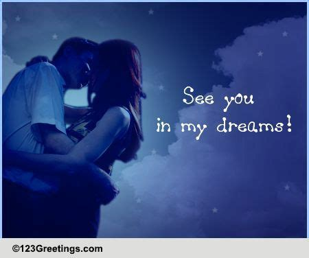 see you in my dreams! free good night ecards, greeting