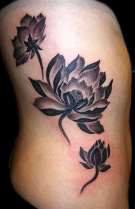 lotus tattoo side 70 best lotus flower tattoo design ideas