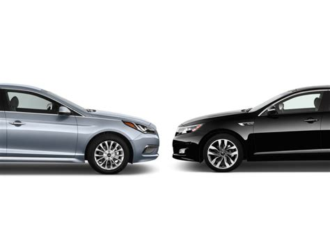 Kia Sonata Hyundai Sonata Vs Kia Optima Compare Cars