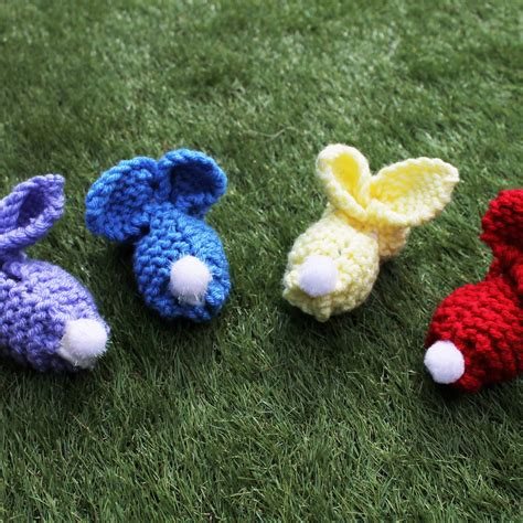 how to knit a easter knitted easter bunnies easy archives tea and crafting