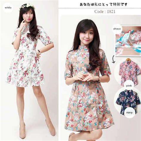 Dress Fashion Import Bangkok Tulip Dress New Arrival dress turtle neck i l o v e f a s h i o n s s