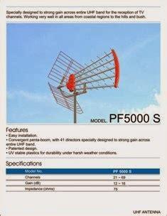 Antena Tv Digital Pf harga antena tv outdoor yang bagus