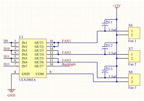 Uln2003 A pwm what is the reason my uln2003a overheats electrical engineering stack exchange