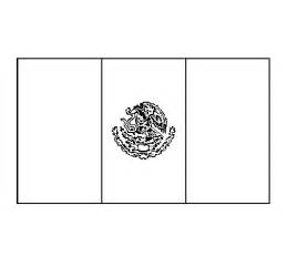 mexico flag coloring page mexico coloring page