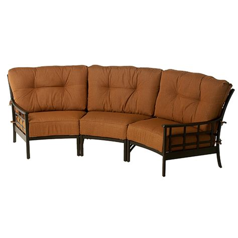 stratford couch stratford estate deep seating crescent sectional