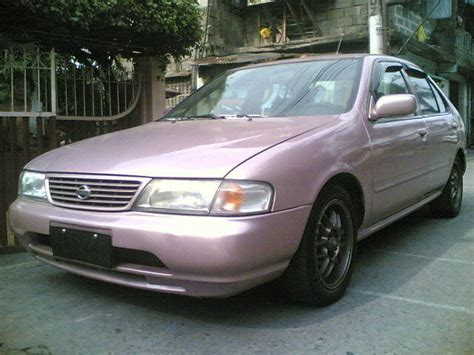 pink nissan sentra 1995 nissan sentra saloon for sale from manila