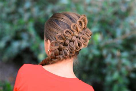 cute girl hairstyles youtube bow diagonal bow braid popular hairstyles cute girls