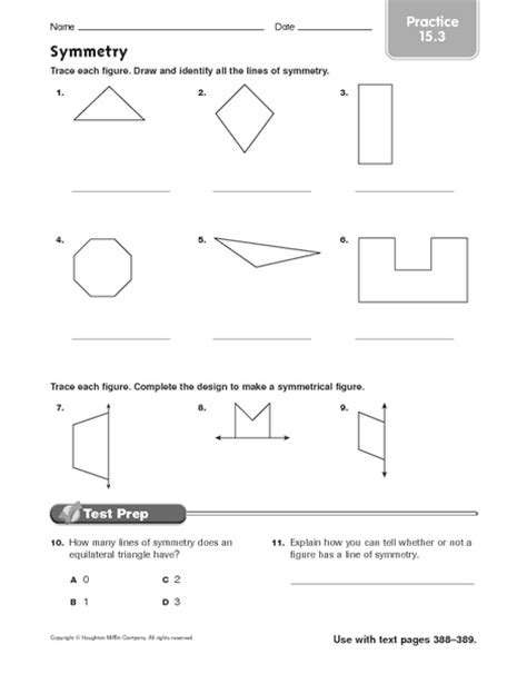 Rotational Symmetry Worksheets by Symmetry Rotational Symmetry Worksheets Images