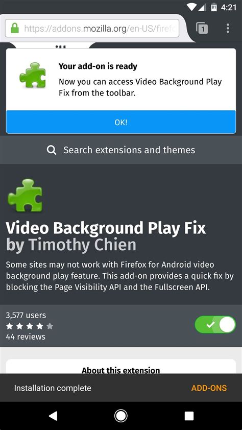 background playback android fix firefox s background playback feature on