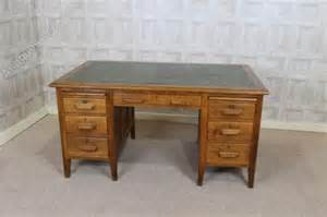 Antique Office Desks Solid Oak Office Desk 1930s Antiques Atlas