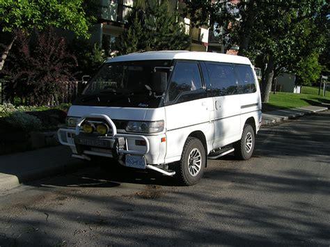 4 Wheel Drive Minivans by Mitsubishi Delica Four Wheel Drive Minivan Car Pictures
