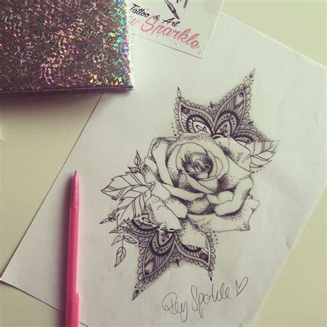 tattoo mandala y rosa 94 best rey sparkle tattoo art images on pinterest