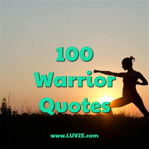 inspirational warrior quotes  sayings