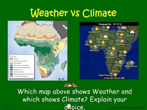 5th grade weather vs climate weather tools lessons