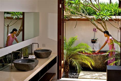 Luxury Small Bathroom Ideas Semi Outdoor Bathroom Bali Luxury Villas