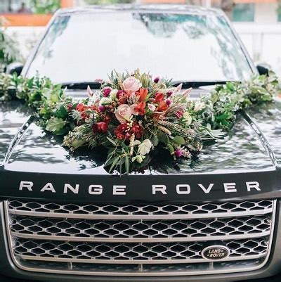 Quality Wedding Car Decoration Singapore Package