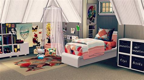 sims 3 bedroom decor coastal living idea home kid s room the sims 3 for