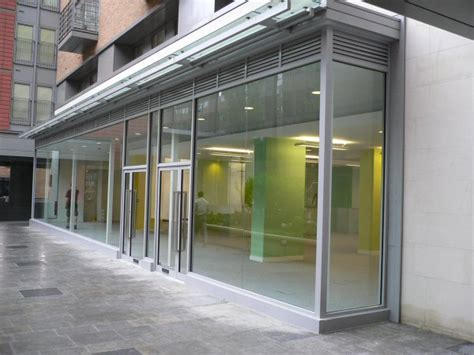used shop front doors uberstruct we are aluminium shop front contractors