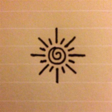 small easy tattoos 25 best ideas about small sun tattoos on sun