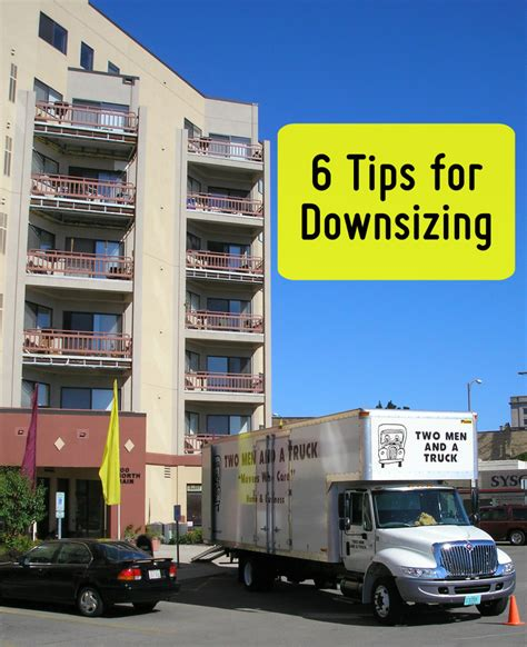 tips for downsizing 6 tips on downsizing your home movers who blog in