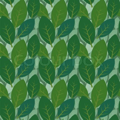 leaf pattern wiki seamless leaves pattern two layers stock vector colourbox
