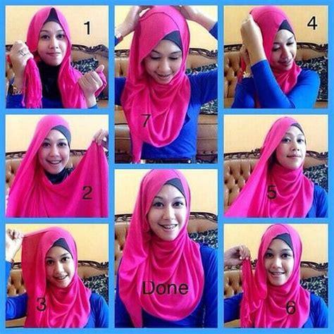 Kreasi Jilbab Pesta tips cara memakai kerudung pesta simpel nan anggun