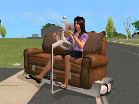 on the couch prince fresh prince creations sims 2 couch car