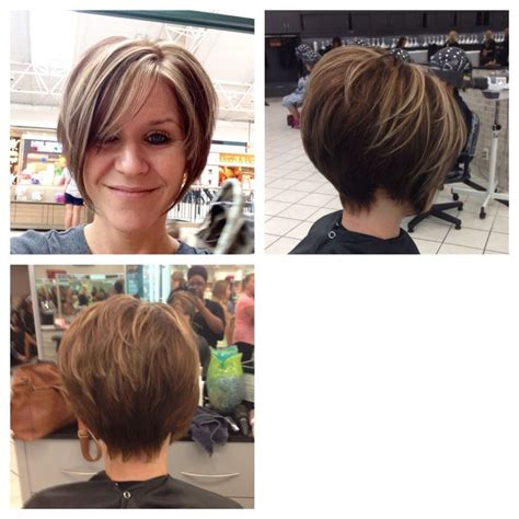 highlighting pixie hair at home short pixie with long bangs chocolate brown with caramel