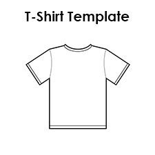 Blank T Shirt Templates Pdf T Shirt Design Template Pdf