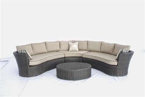 Curved Garden Sofa by Curved Outdoor Sofa Set Sofa Menzilperde Net